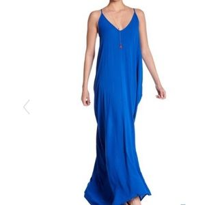 Dresses & Skirts - Loose Gauze Maxi Rayon Boho Gown Long Dress S-M